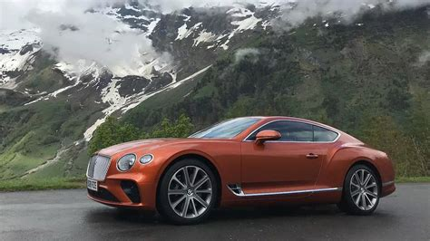 2019 Bentley Gt by 2019 Bentley Continental Gt Drive Review The New