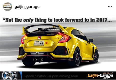 gaijin garage spoon sports type  renders  honda