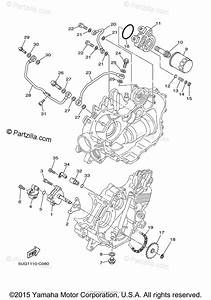 Yamaha Side By Side 2006 Oem Parts Diagram For Oil Pump
