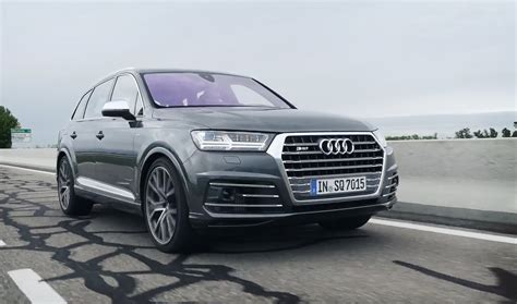 Audi Sq7 Tdi 2016 by обзор Audi Sq7 2016 автовести