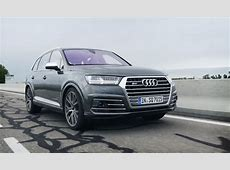 Audi SQ7 review An insane sports car of an SUV GearOpen