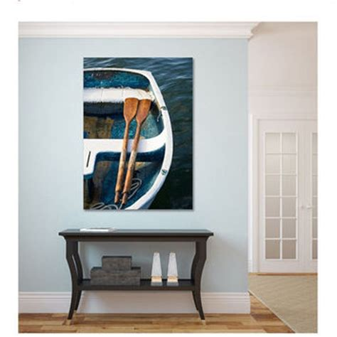 This fleet of sailboats brings a cool breeze and a relaxed, nautical vibe to any home. Nautical Wall Art, Canvas Triptych 3 from Katherine Gendreau