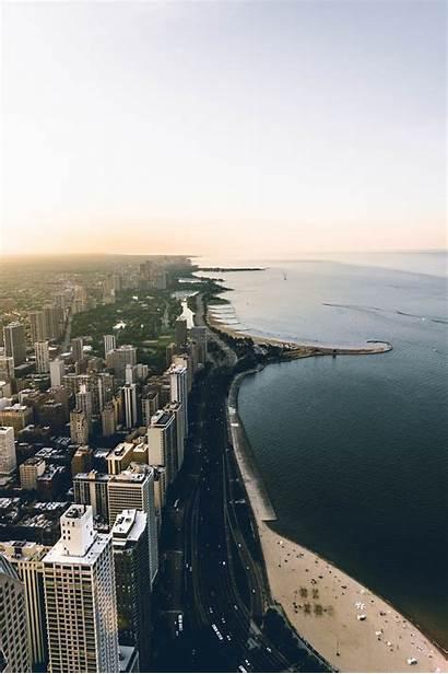 Michigan Lake United States Largest Chicago Coast