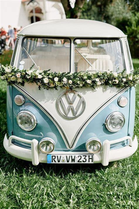 vw bulli deko originelle landhaushochzeit mit vw bulli hochzeit in 2019 voiture mariage