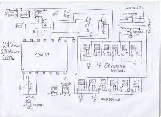 How Build Kva Inverter Circuit Diagram Ups