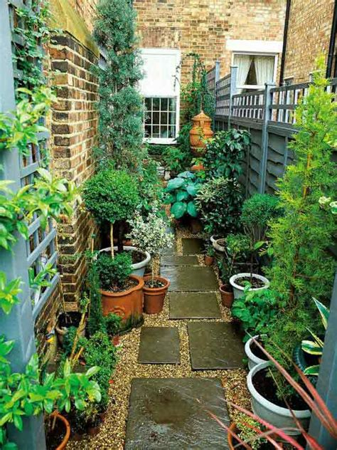 Small Space Backyard Ideas by 18 Clever Design Ideas For Narrow And Outdoor Spaces