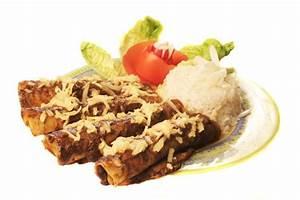 Enchiladas de pollo con mole | www.cocinista.es