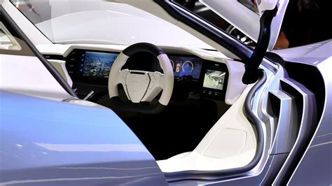 wallpaper aspark owl electric car interior  cars