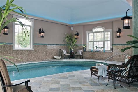 Decorative Swimming Pools House by House Indoor Swimming Pool Backyard Design Ideas