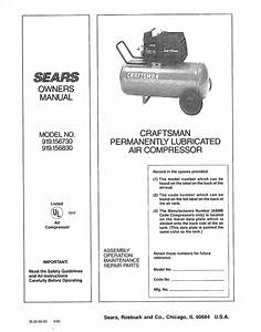 Craftsman 919 156830 Specifications