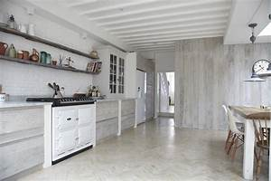 Industrialna kuchnia kokopelia design kokopelia design for Kitchen colors with white cabinets with 4 murs papier peints