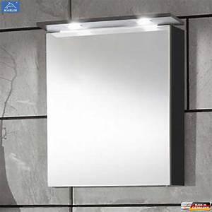 Spiegelschrank 60 Cm Led : marlin 3060 spiegelschrank 60 cm mit 1 t r led oberboden impuls home ~ Bigdaddyawards.com Haus und Dekorationen