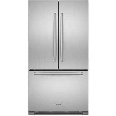 ge cafe counter depth refrigerator kitchenaid krfc302ess door refrigerator
