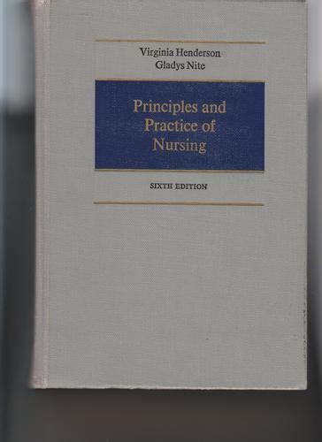 principles  practice  nursing virginia henderson