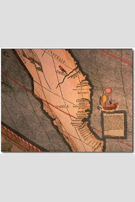 #310 Title: Universalis Cosmographia Secundum Ptholomei Traditionem e Et Americi Vespucci ...