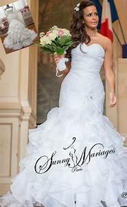 Robe De Mariee Sirene : robe de mari e fourreau sir ne froufrou sunny mariage ~ Melissatoandfro.com Idées de Décoration