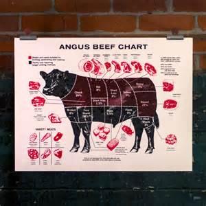 Angus Beef Cut Chart