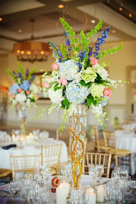 easy spring table centerpieces real wedding with