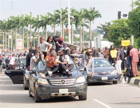 Daily Trust - #EndSARS protests: Ominous clouds of bedlam ...