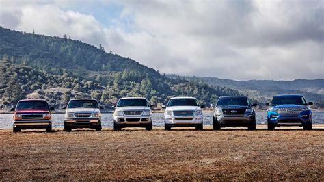 explore  ford explorers  generation lineage