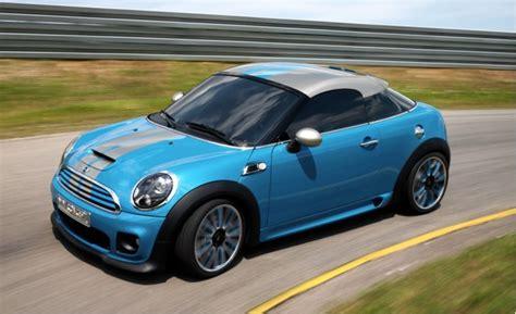 mini coupe concept celebrates  years  minis targets