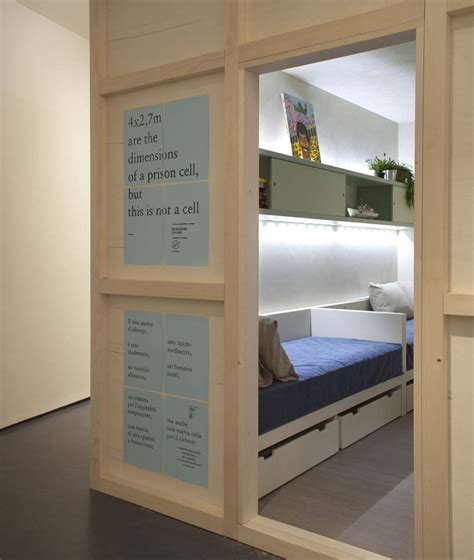 Inmates create the Freedom Room, an apartment with the