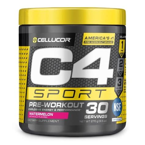 cellucor  sport watermelon pre workout powder target