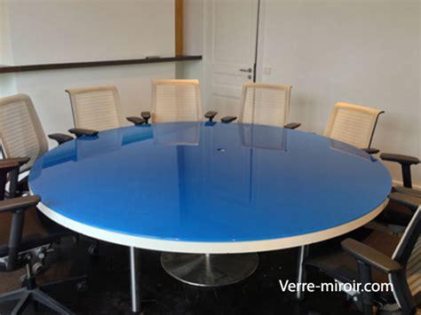 protection bureau verre protection de table en verre trempe