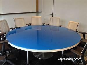 Verre Sur Mesure Pour Table : protection de table en verre trempe ~ Dailycaller-alerts.com Idées de Décoration