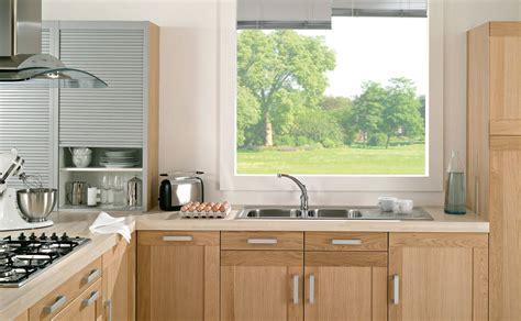 cuisines teisseire cuisine anthéor chêne clair sobre et équipée par