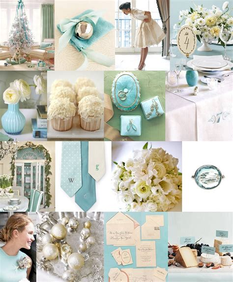 wedding colors tiffany blue with white and silver
