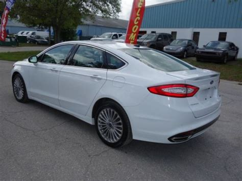 Ford Fusion Turbo by Find Used 2014 Ford Fusion Titanium 2 0l Turbo Ecoboost