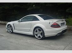 Mercedes SL AMG STYLE WIDE BODY KIT
