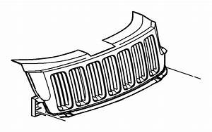 Jeep Grand Cherokee Grille  Radiator  Color   Black  Red