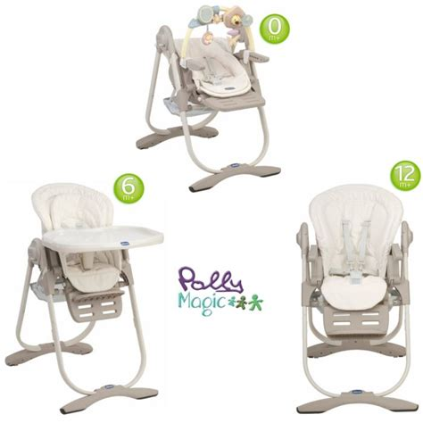 chaise chicco polly magic 3 en 1 chicco chaise haute 3 en 1 polly magic aura aura achat