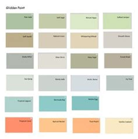 glidden interior paint color chart home painting