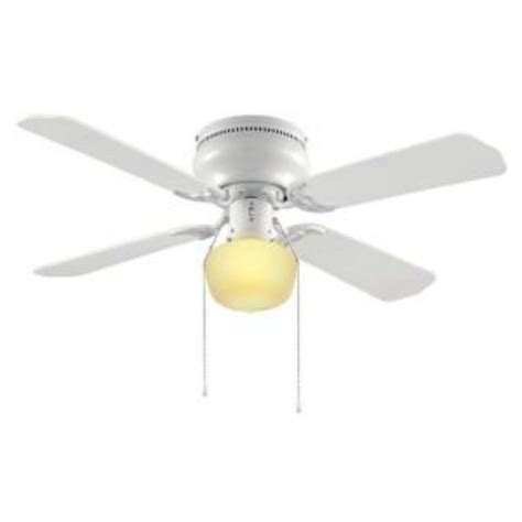 hton bay littleton 42 in white ceiling fan 270614