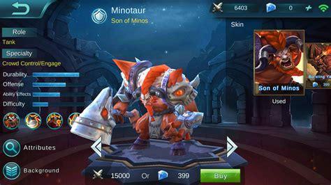Mobile Legends Minotaur Build Guide
