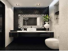 Mirrors Ideas Black White Bathroom With Decorating Mirrors Ideas Bathroom Mirror Frame Ideas Towels Kitchen Cloths Inspiring Design Small Bathroom Mirrors Home Design Ideas Small Bathroom Mirror Storage Design Ideas SayLeng SayLeng