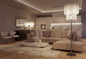 A Luxurious Living Room by Eduard Caliman (3) | HomeDSGN