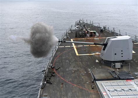 Battleship firing Large Guns image - Free stock photo ...