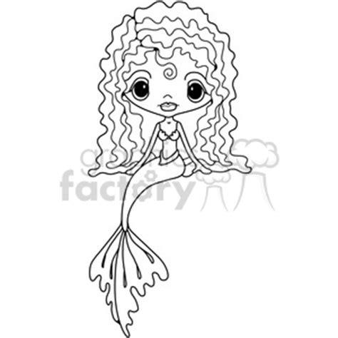 girl doll mermaid clipart royalty  clipart