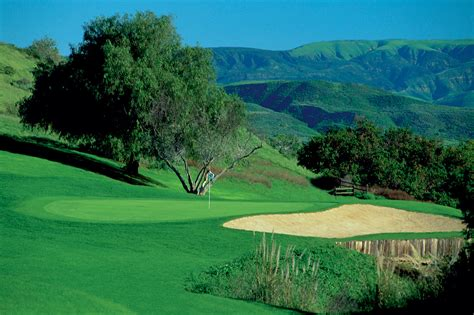 ca golf courses  thousand oaks sunset hills country club