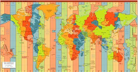 husos horarios y representaci 243 n de la tierra