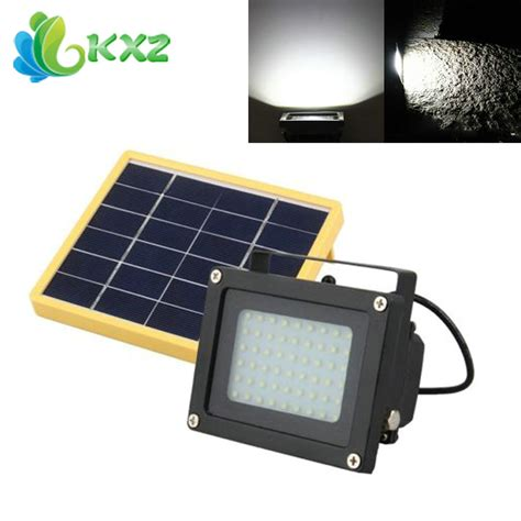 solar powered 54 led dusk to sensor waterproof