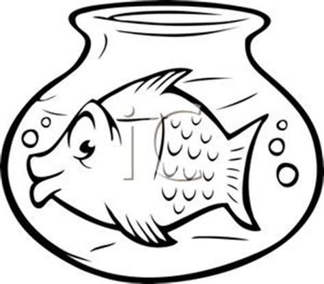 goldfish clipart black and white goldfish bowl clipart clipart suggest