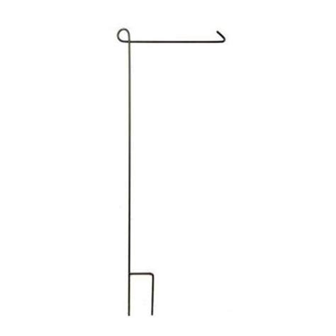 evergreen enterprises 44 in steel garden flag stand
