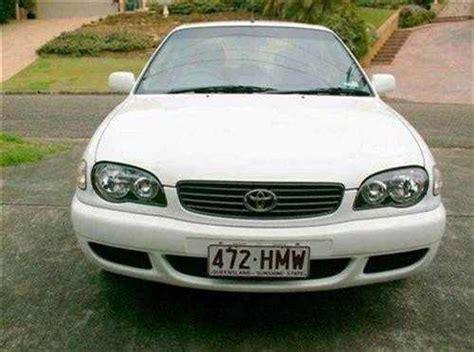 Used Cars Macquarie Nsw by 2001 Used Toyota Corolla Ae112r Liftback Car Sales