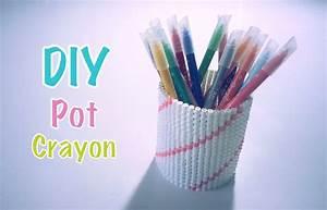 Pot A Crayon : diy pot crayons perles repasser hama youtube ~ Teatrodelosmanantiales.com Idées de Décoration