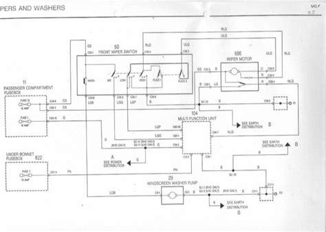 afi wiper motor wiring diagram impremedia net